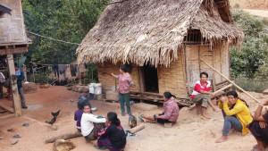 Laos - village Hmong