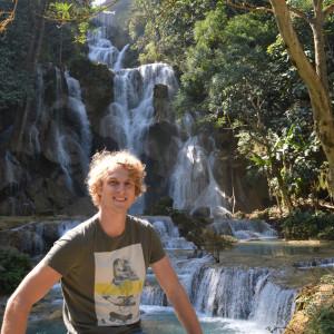 Laos - Kuang Si Waterfalls