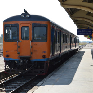 Laos - train