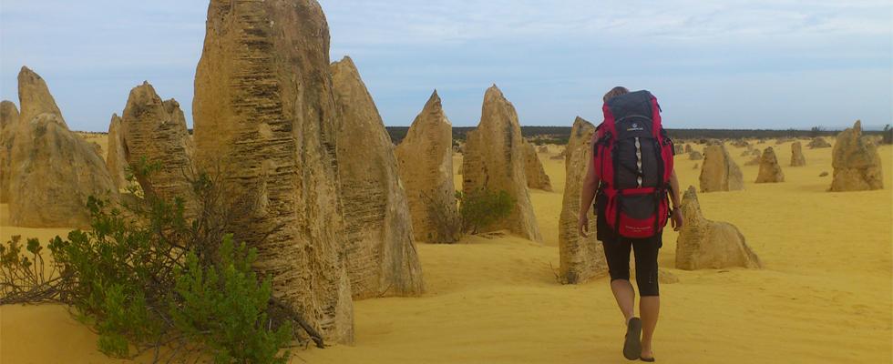 Work & Traveller Rucksack in Australien